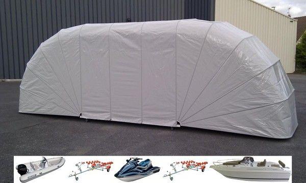 Abri garage bateau semi rigide jet ski - Abri pour bateau ...